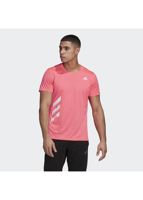 adidas adidas Run It Tee PB Pink
