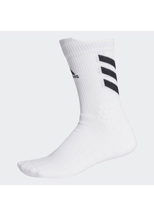 adidas adidas alphaskin Sportblock Sock White M