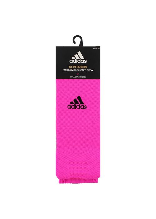 adidas adidas Alphaskin Sportblock Sock Pink L