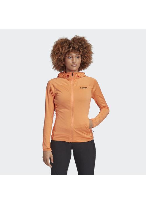 adidas Adidas Ladies TraceRocker Hooded Full Zip