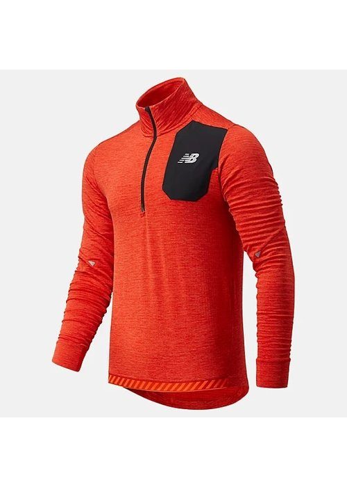 New Balance New Balance Impact Run Grid Back Half Zip