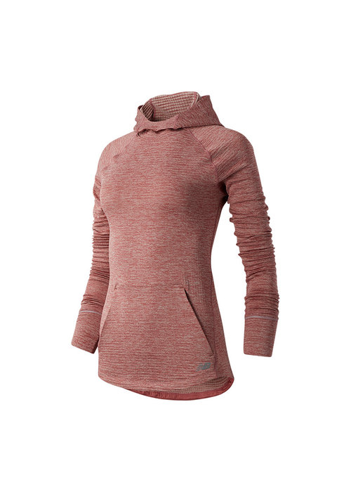 New Balance New Balance Women's Heatgrid Hoodie Off Road Pink