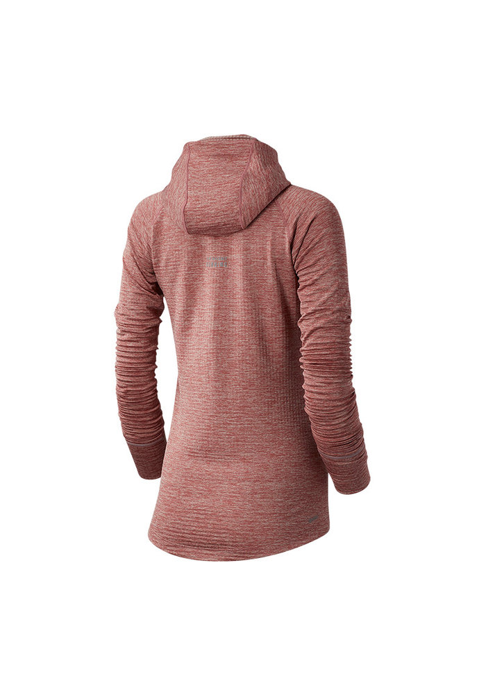 New Balance Women's Heatgrid Hoodie Off Road Pink
