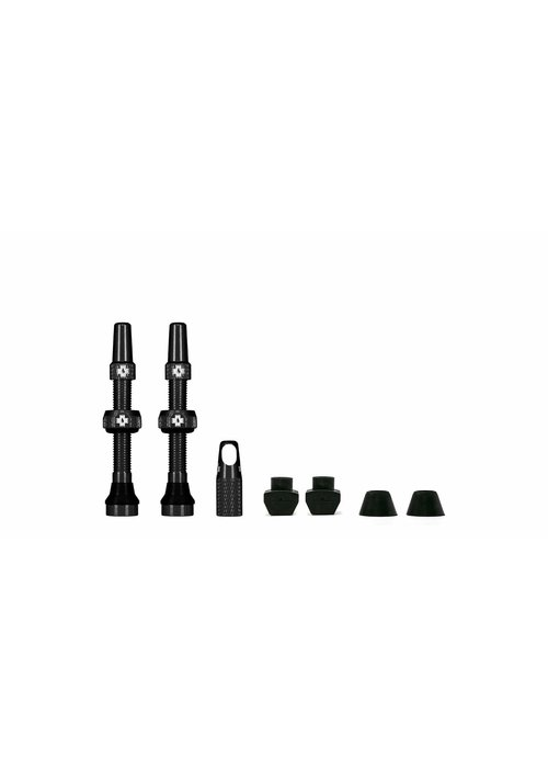 Muc Off Muc-Off Tubeless Valve Kit 44mm Black