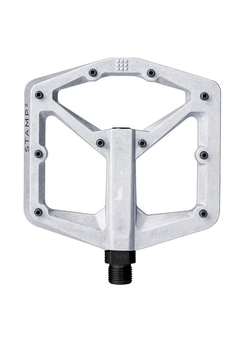 CrankBrothers Crank Brothers Stamp 2 Raw Silver V2