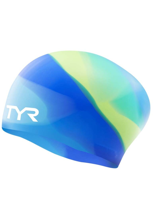 TYR TYR Long Hair Silicone Cap Tie Dye