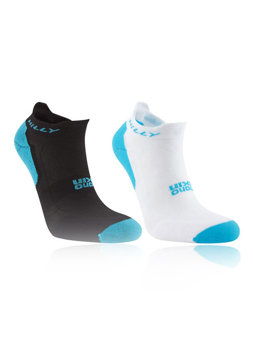 Hilly Hilly Tempo Ultra Lightweight 2 Pack Women's Socklet