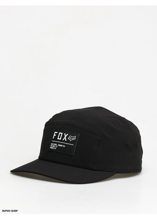 Fox Fox Non Stop 5 Panel Hat Black