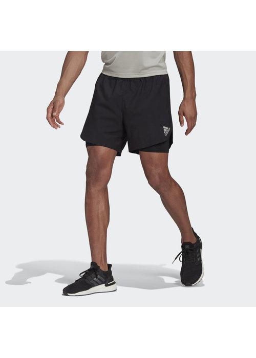 adidas adidas Fast 2-in-1 Primeblue Short