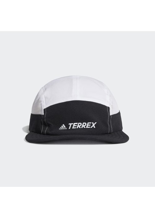 adidas adidas PrimeGreen Aeroready Five Panel Cap Black / White