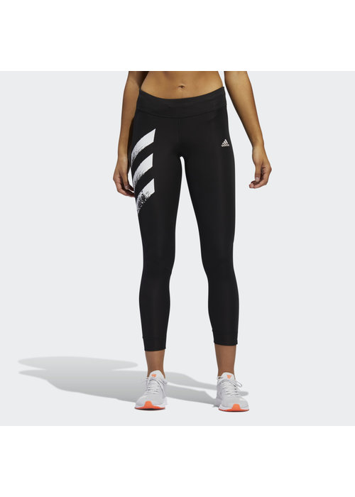 adidas adidas Own the Run 3 Stripes Fast Legging