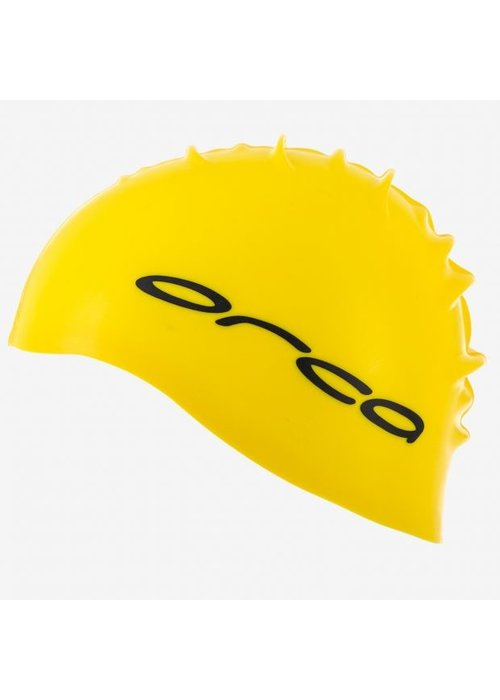 Orca Orca Silicone Swim Cap Yellow