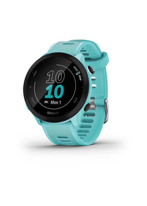 Garmin Garmin ForeRunner 55 GPS Running Watch Aqua
