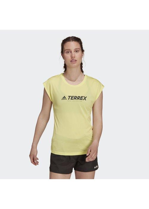 adidas adidas Women's Terrex Primeblue Trail Logo T-Shirt