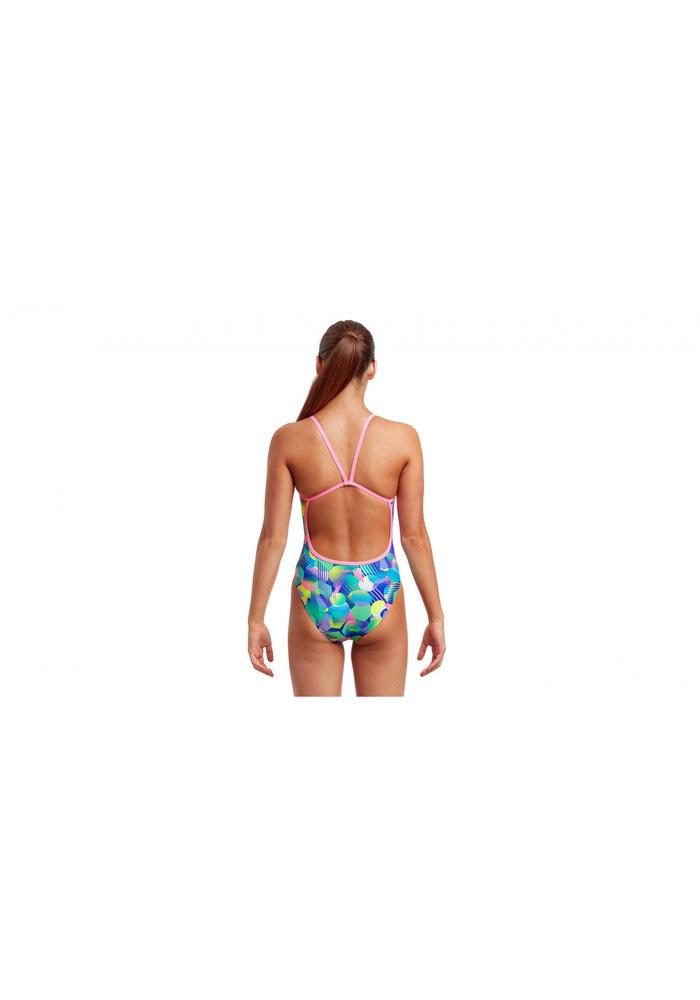 Funkita Single Strap One Piece Walk on Water Girls 12