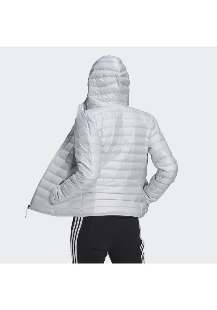 adidas Womens Varilite Down Hooded Jacket