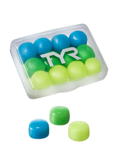 TYR TYR Kids Soft Silicone Ear Plugs 12 pack