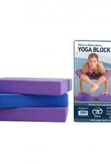 Fitness Mad Fitness Mad Full Yoga Block Blue