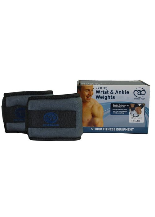 Fitness Mad Fitness Mad Wrist and Ankle Weights 2 x 0.5Kg