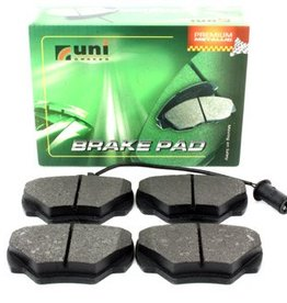 unibrakes SFP500190 | Rear Brake Pad Set Ds1 -DEFENDER
