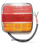 Achterlicht classic 12-24 volt 3 functies E-keur