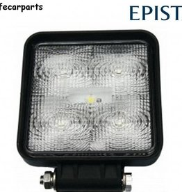 secondlifecarparts Werklamp 15 watt vierkant extra dun