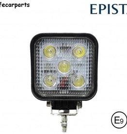 Werklamp 15w vierkant mini E-Keur