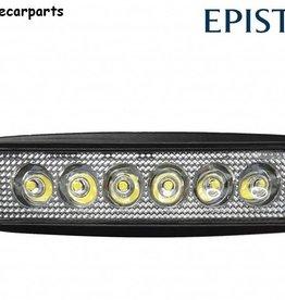 Werklamp 18w mini led bar verstraler