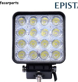 secondlifecarparts Werklamp 48 watt led vierkant E-keur