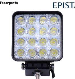 Werklamp 48 watt led vierkant E-keur