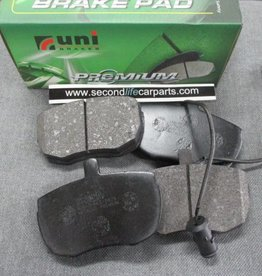 unibrakes SFP500220 stc9145  STC9186 - Front Brake Pads Axle Set R/R Classic and Discovery 1