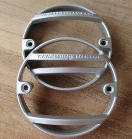 KBX7201  NAS Lamp Guards - Zambezi Silver - Pair