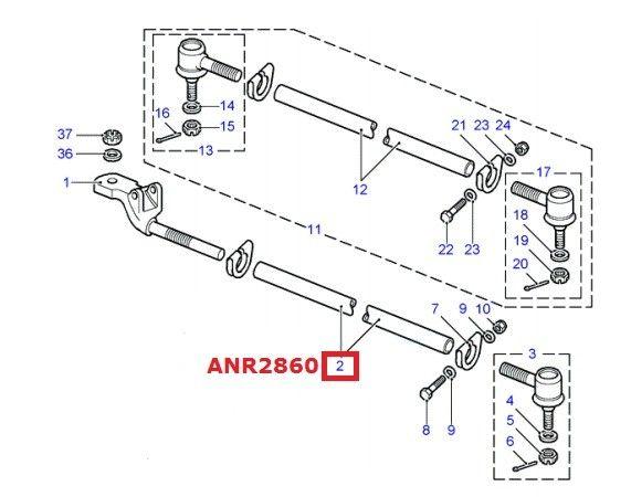 ANR2860 | Tie-rod tube defender