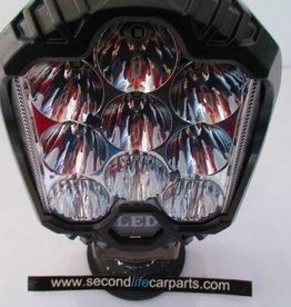 cm-9060 7 inch 40watt ledlamp met zijverlichting