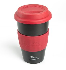 50JDMG743BKA Jaguar  Travel mug - Black