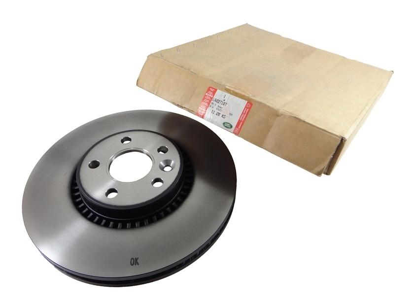LR027107  Front Brake Disc  Freelander 2