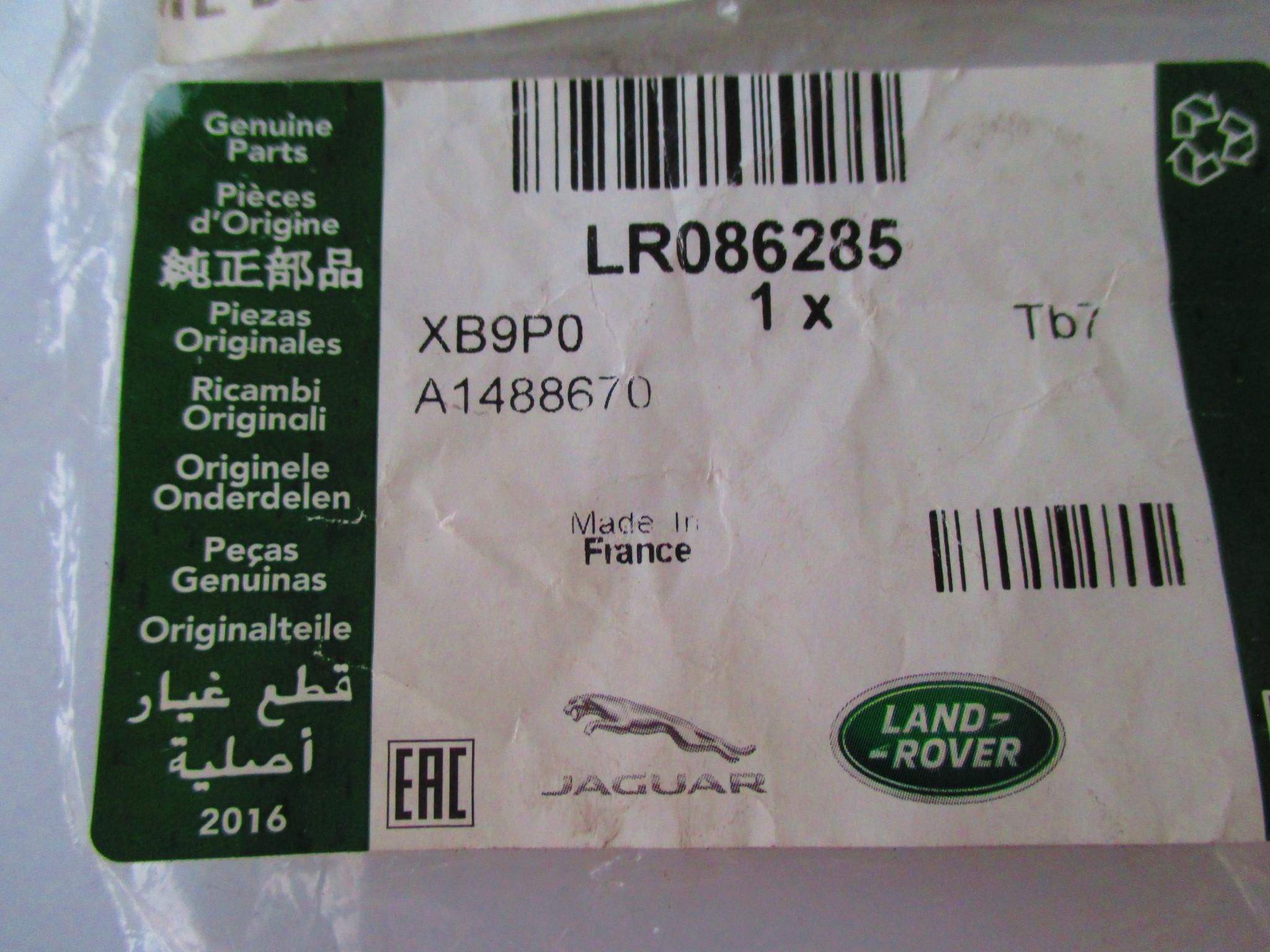 LR086285  Kit - O Ring