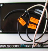 Binnenverlichting zwart met schakelaar 12-24 volt