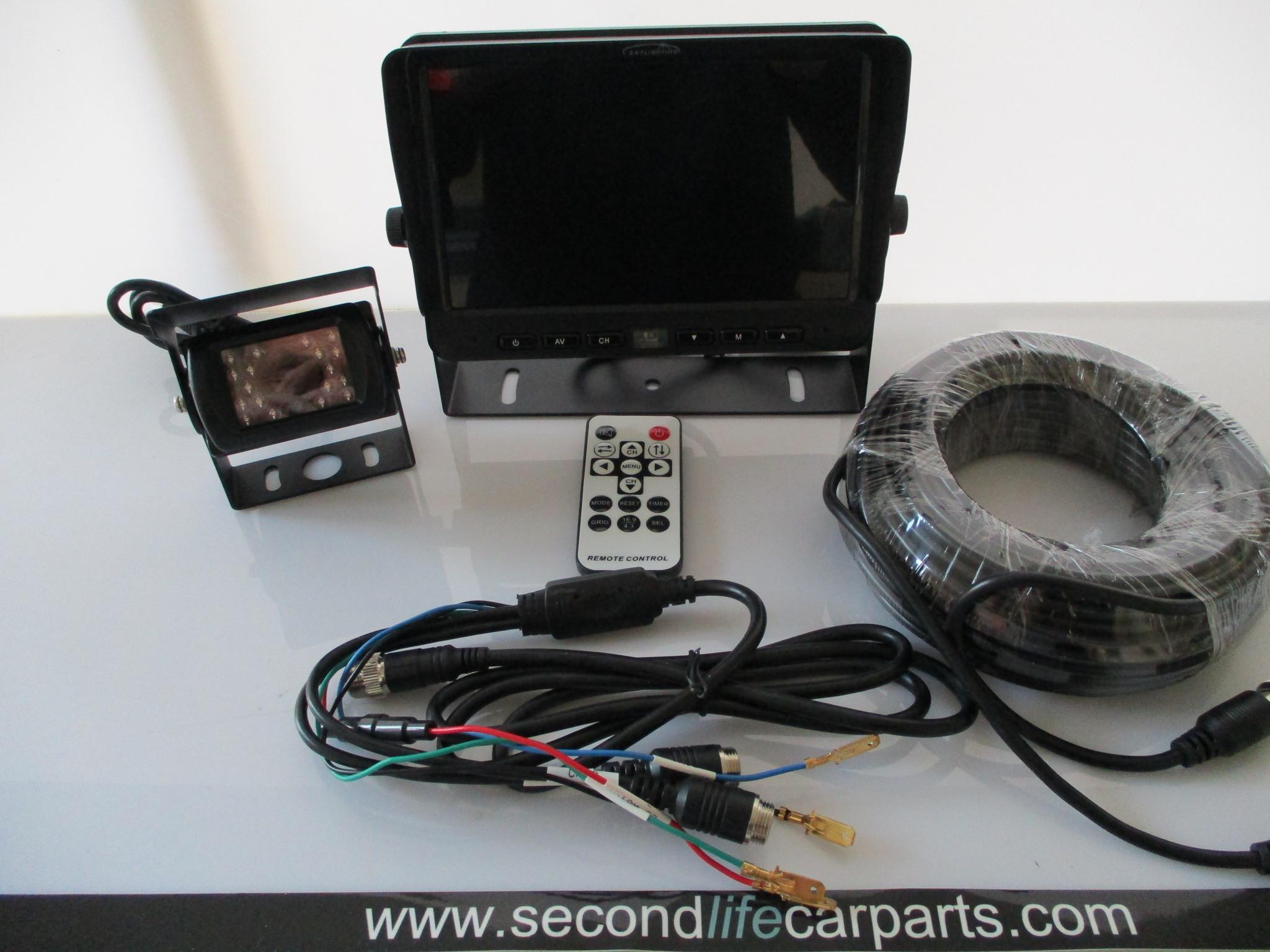 CA9770  7inch  Reversing Camera Kit  Audio 12 & 24 volt
