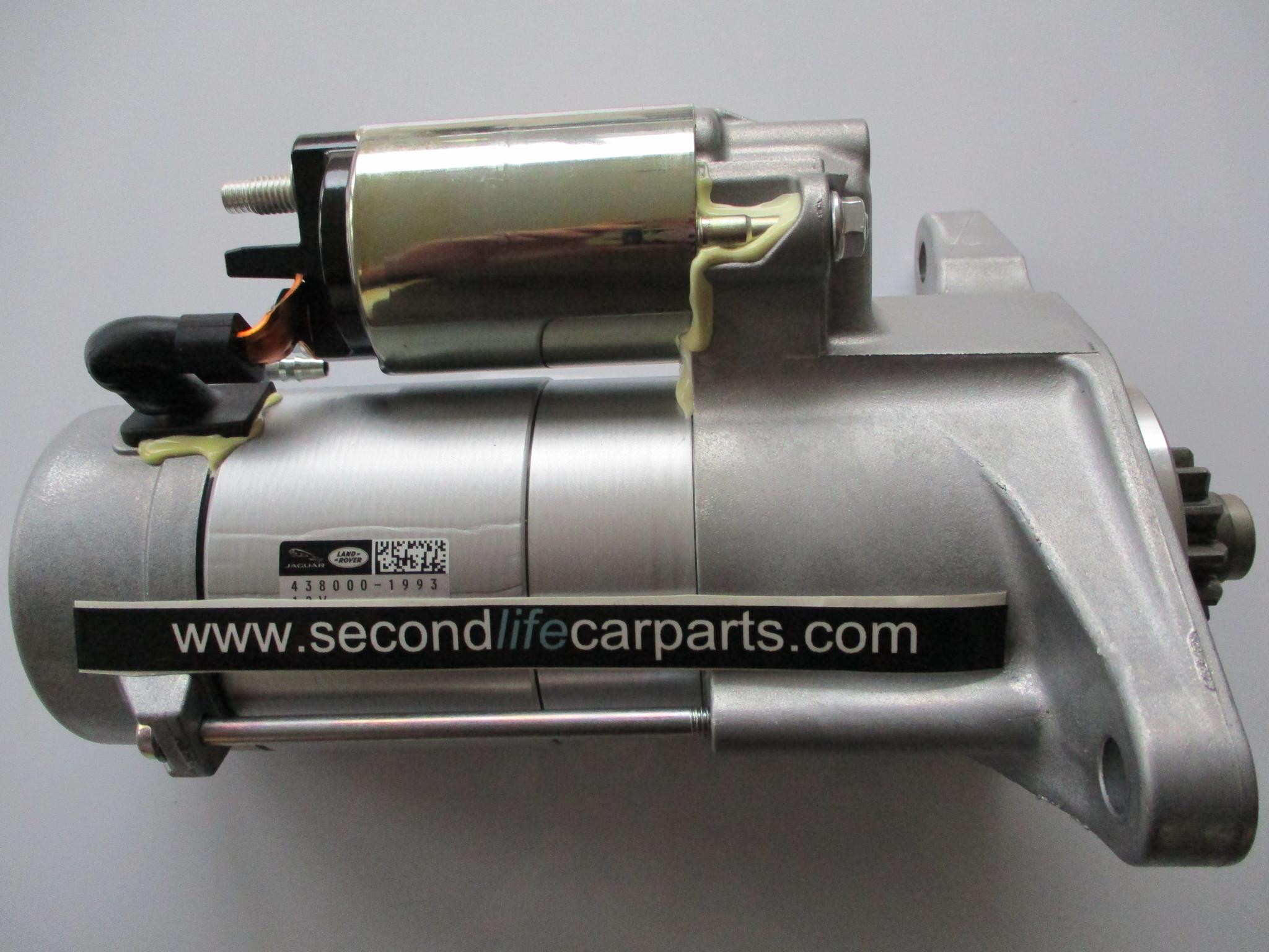 LR085507 J9C1876  Genuine Starter Motor 2.0 Litre Diesel