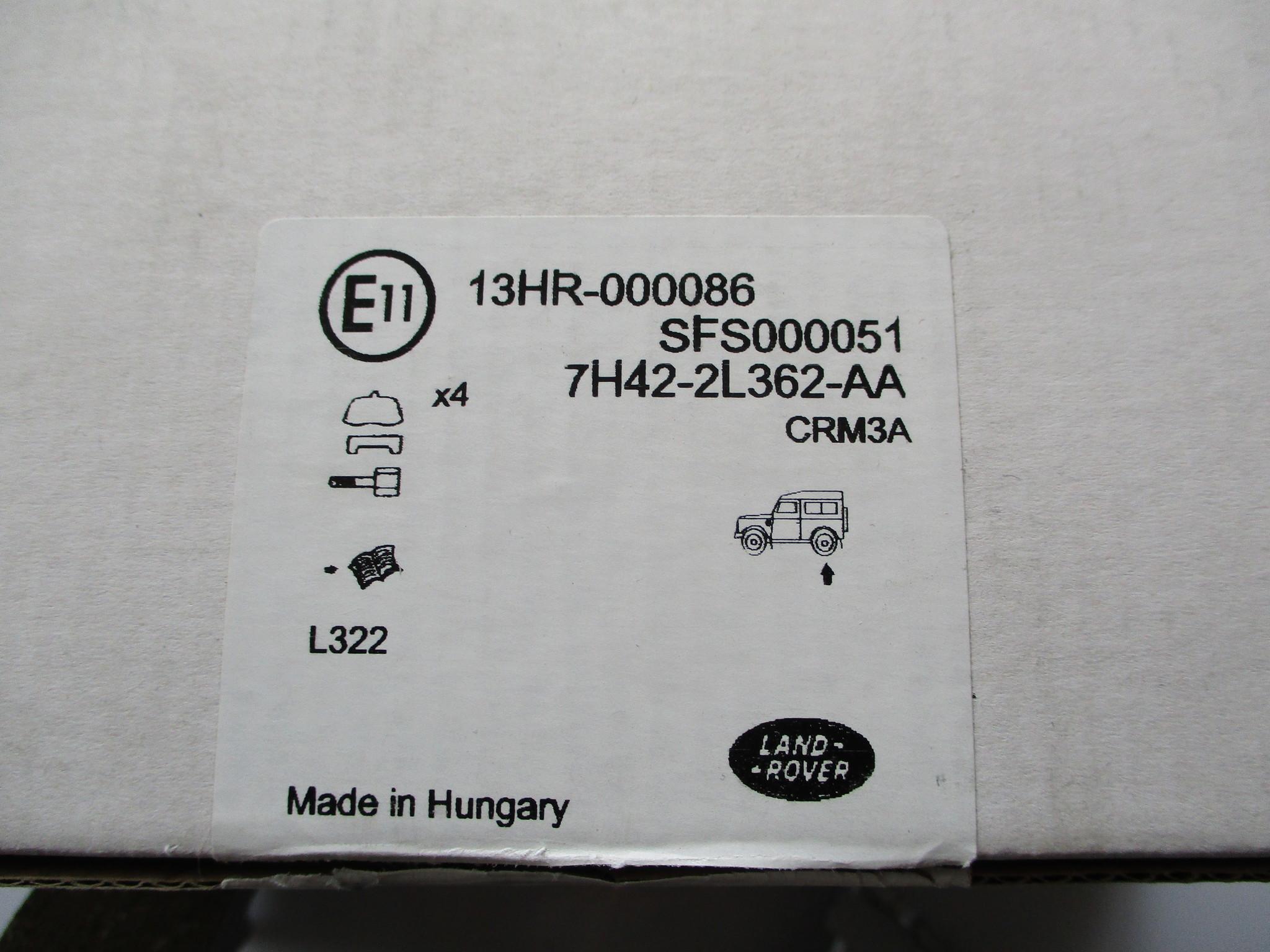 SFS000051  Shoe- Rear Brake