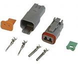 Deutsch DT-serie 2 pins  connector