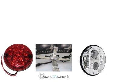 LED Koplampensets en lampen