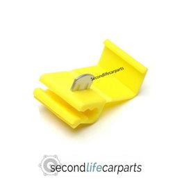 Kabelklem - geel  10 STUKS