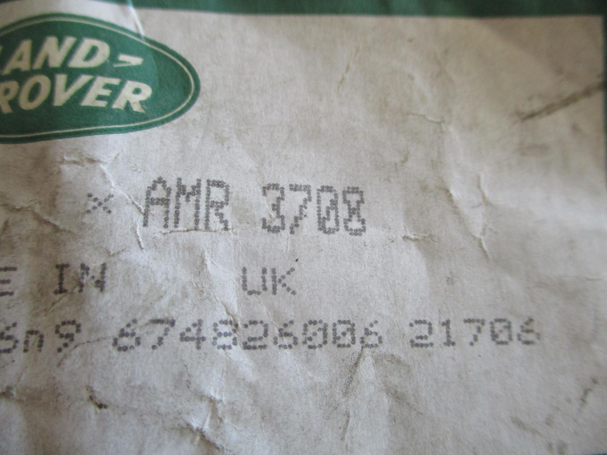 AMR3708  LOWER TRANSFER BOX HIGH LOW