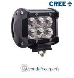 CREE light bar 18 watt 12-24 volt verstraler
