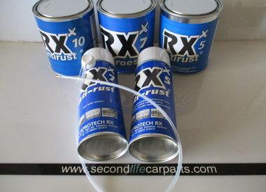 RX 5, RX 7 en RX 10 anti-roest producten