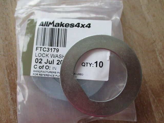 FTC3179 | Stub Axle Lock Washer Def Rrc Ds1