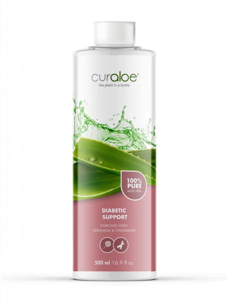 Curaloe Pure Aloe Vera Diabetic support Curaloe®