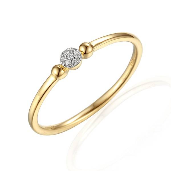 Private Label CvdK Private Label CvdK  geelgouden halo ring diamant